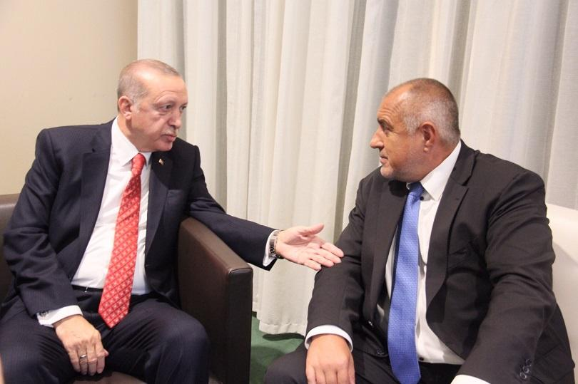 Премиерът Бойко Борисов и турският президент Реджеп Тайип Ердоган обсъдиха