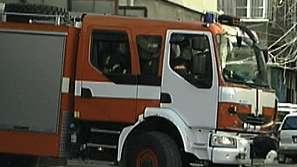 """Пожар избухна в ресторанта на Търговски център """"Сани"""