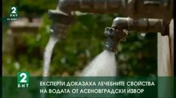 Експерти доказаха лечебните свойства на водата от асеновградски извор