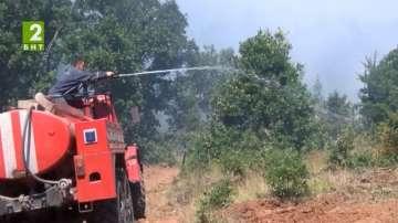 Предупреждават за риск от пожари в Пловдивско