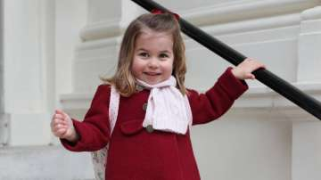 Британската принцеса Шарлот тръгна на детска градина