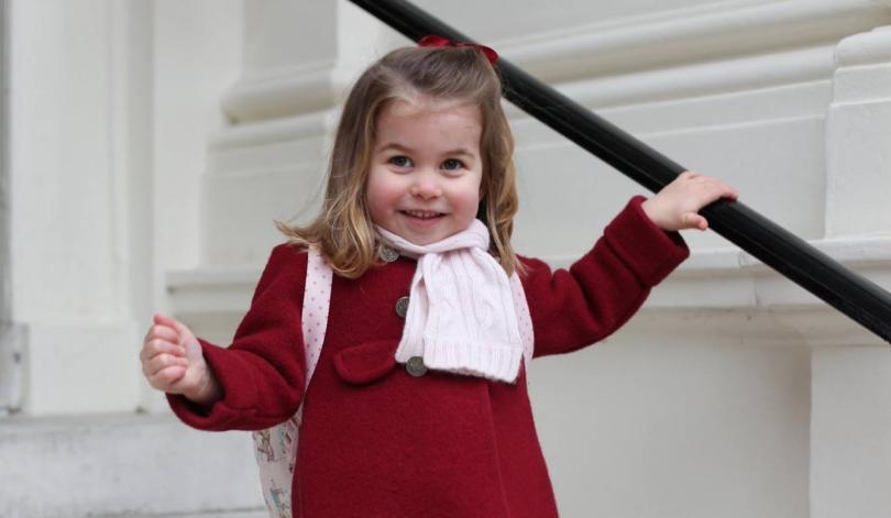 Дъщерята на принц Уилям и съпругата му Кейт - Шарлот,