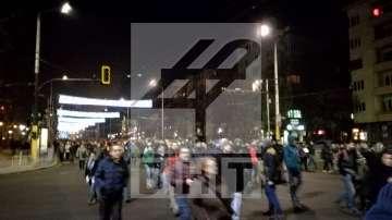 "Протестиращите срещу устройствения план на ""Пирин"" затвориха Орлов мост в София"