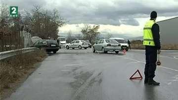 Пловдивска област с най-много тежки катастрофи