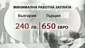 Покупателната способност на гърци и българи в кризата