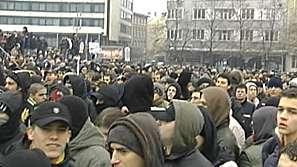 Протестът без сблъсъци и напрежение