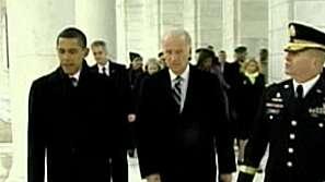 Ден преди встъпването в длъжност на Барак Обама