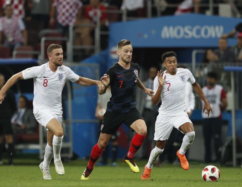 снимка 3 Хърватия отива на финал с Франция на Световното първенство в Русия (СНИМКИ)