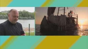 Българин на тръстикова лодка ще преплава три морета