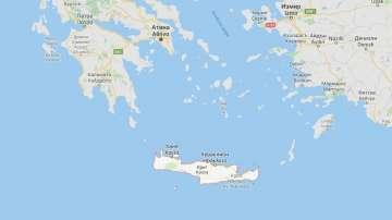 Силно земетресение е регистрирано на остров Крит
