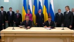 Русия и Украйна подписаха 10-годишен газов договор