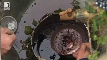Вино потече от чешма в Асеновград