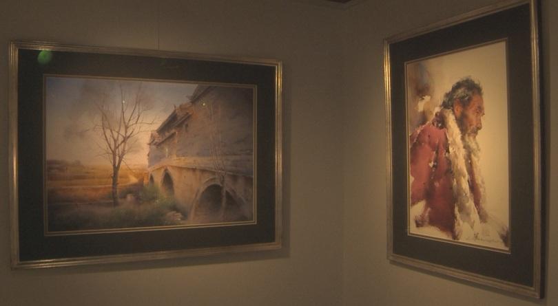 Майстори на акварела от целия свят с изложба в галерия
