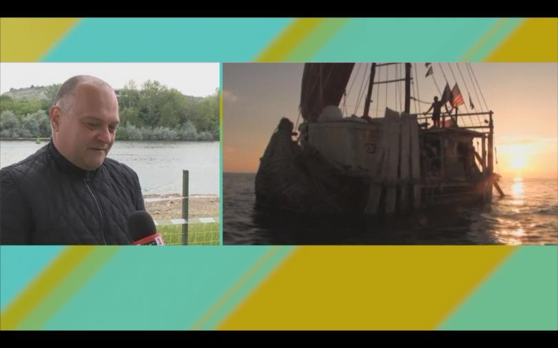 Група изследователи ще предприемат морска експедиция с тръстикова лодка. Сред