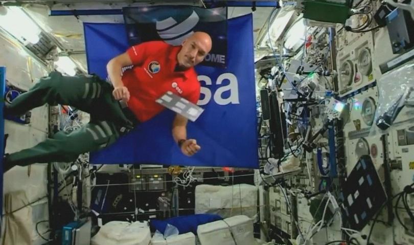 Италианецът Лука Пармитано стана първият ди джей в Космоса. Астронавтът