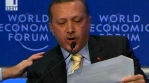 Ердоган напусна Давос със скандал