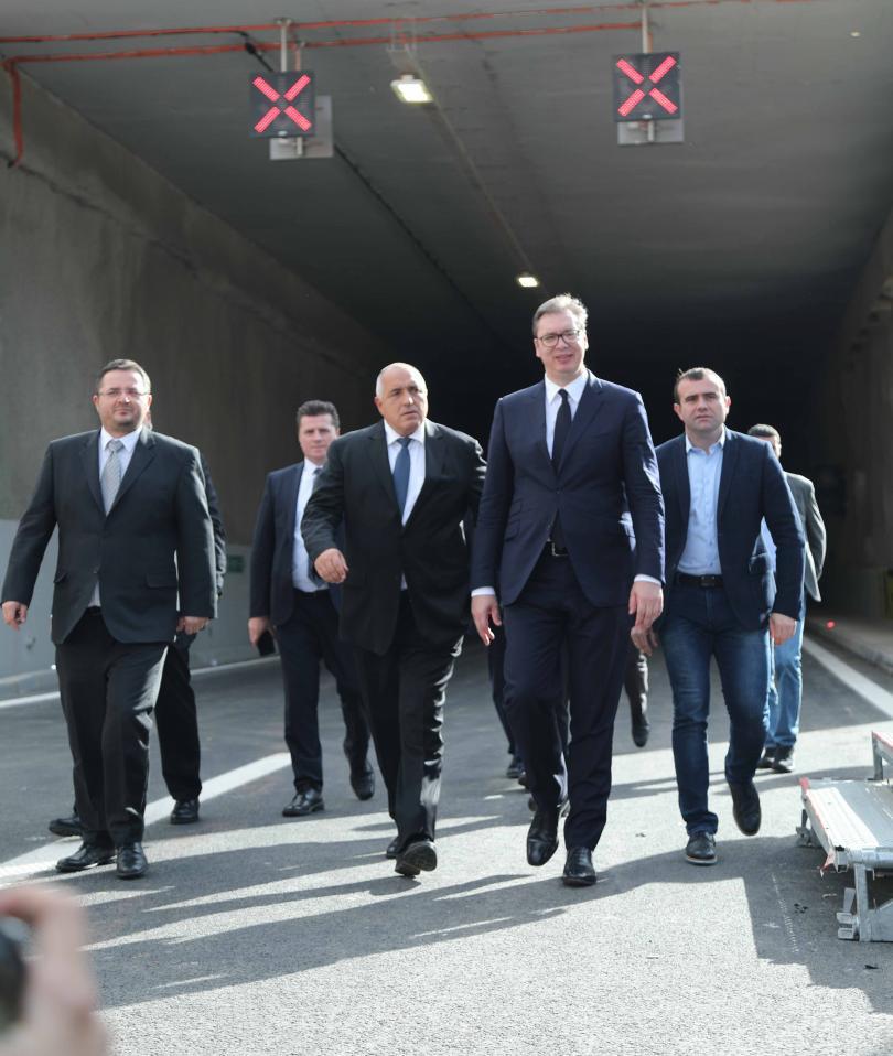 снимка 1 Премиерът Борисов: Берлинската стена между България и бивша Югославия днес пада