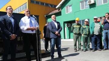 Борисов откри нов цех в завода за олио в Карапелит