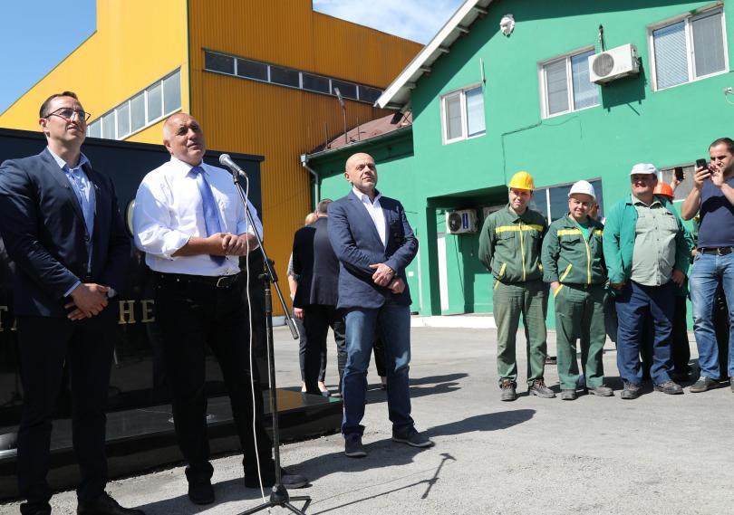 Нов цех със 100 работни места беше открит днес в
