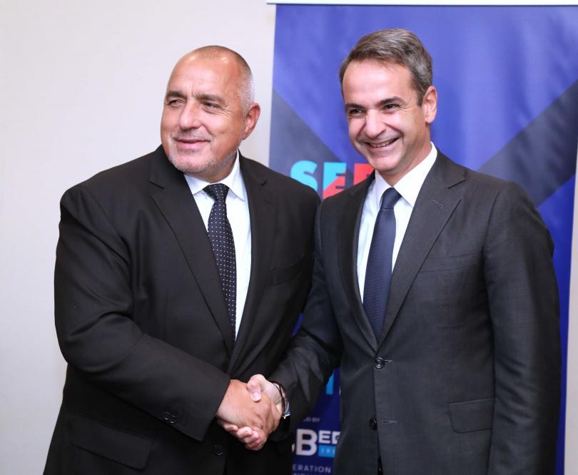 Борисов и Мицотакис обсъдиха реализацията на общи енергийни проекти