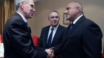Премиерът Борисов се срещна с посланика на САЩ в Гърция Джефри Пиат