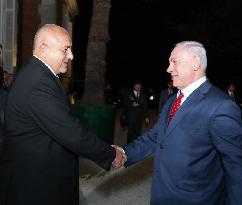 снимка 1 Борисов и Нетаняху обсъдиха отношенията България - Израел в Евксиноград