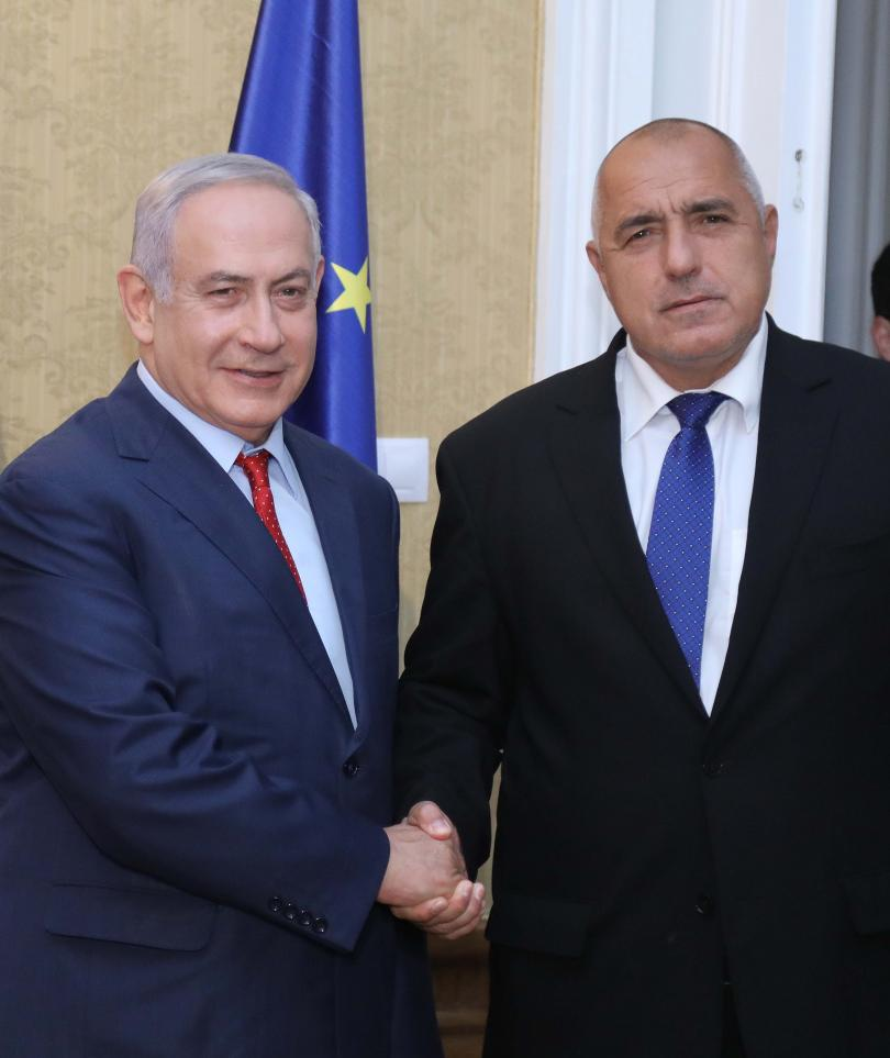 снимка 4 Борисов и Нетаняху обсъдиха отношенията България - Израел в Евксиноград