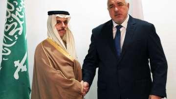 Борисов се срещна с министъра на външните работи на Саудитска Арабия (Снимки)