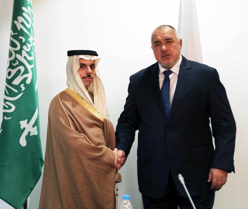Министър-председателят Бойко Борисов проведе среща с Негово Височество принц Фейсал