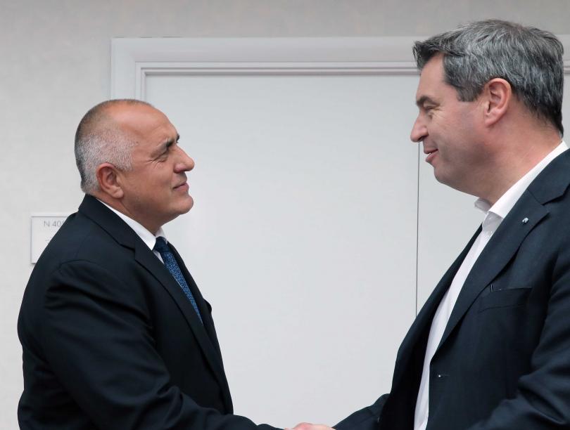 снимка 2 Бойко Борисов: Отношенията между България и Германия са отлични
