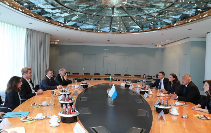 снимка 1 Бойко Борисов: Отношенията между България и Германия са отлични