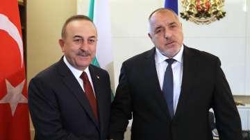 Бойко Борисов се срещна с турския външен министър Мевлют Чавушоглу