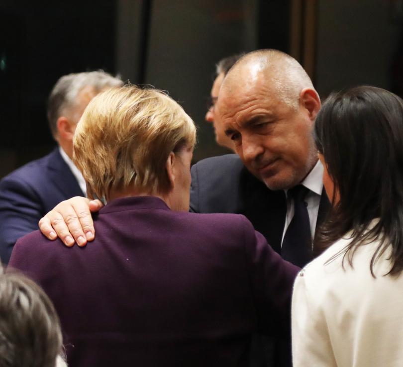 снимка 5 Борисов и лидерите на ЕС обсъждат новата финансова рамка (ГАЛЕРИЯ)