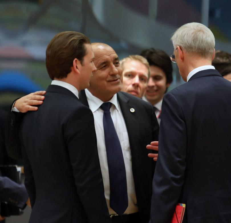 Премиерът Бойко Борисов смята, че ЕС може да даде кратка