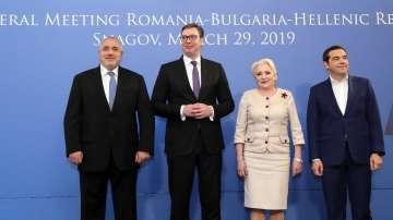 По инициатива на Борисов: Лидерска среща България, Гърция, Румъния и Сърбия