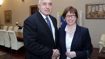 Премиерът Бойко Борисов се срещна с бъдещия директор на Европол Катрин де Бол