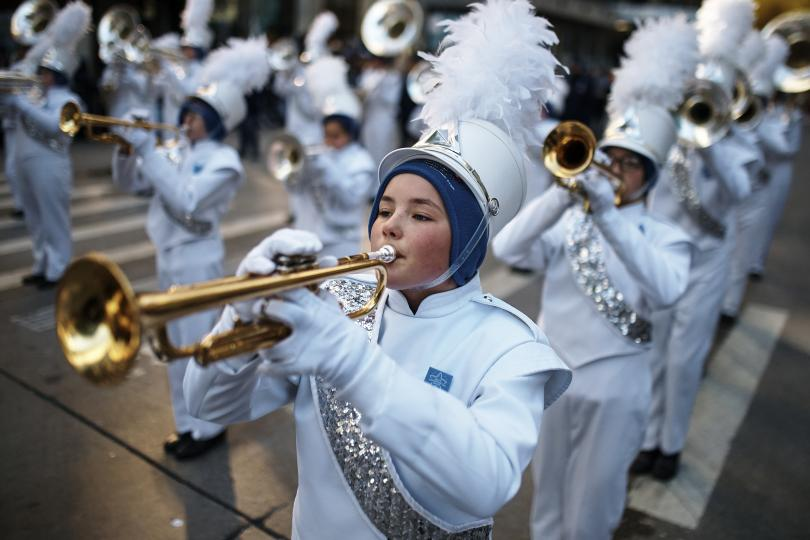 снимка 3 Рекорден студ за Деня на благодарността в Ню Йорк (СНИМКИ)