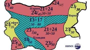 Времето през август: Не се очакват екстремни температури