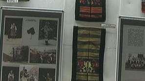 Изложба на ръчно тъкани престилки от бабините ракли