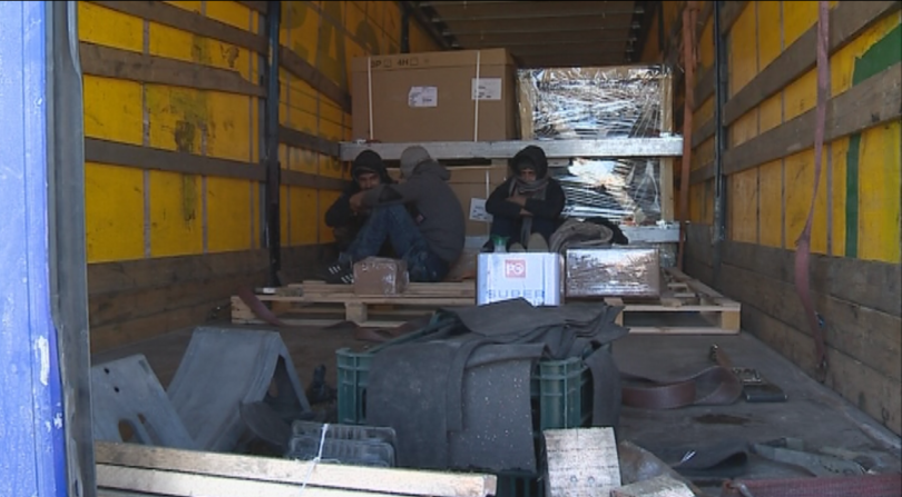 снимка 5 Най-мащабната операция на МВР и ДАНС срещу незаконната миграция