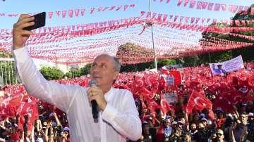 Опонентът на Ердоган с финална реч преди предсрочния вот за президент на Турция
