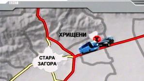 Шест души загинаха при тежка катастрофа край Стара Загора