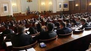 За новата конфигурация в парламента