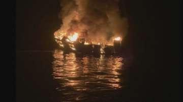 Кораб за гмуркачи гори край Калифорния, 34-ма изчезнали