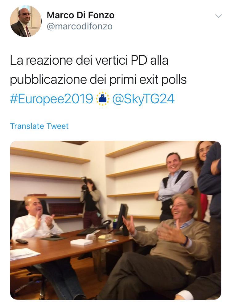 """снимка 1 """"Лига"""" печели евроизборите в Италия"""