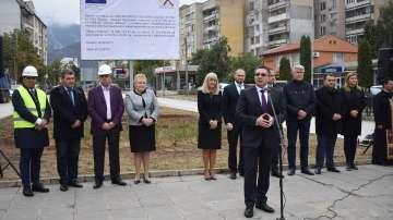 Нанков даде старт на подновения участък Враца - пещера Леденика