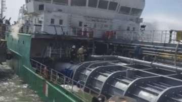 Три жертви при експлозия на руски танкер в Каспийско море