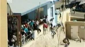 Сблъсъци на имигранти в Лампедуза
