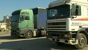 Спряха товарните превози за Русия