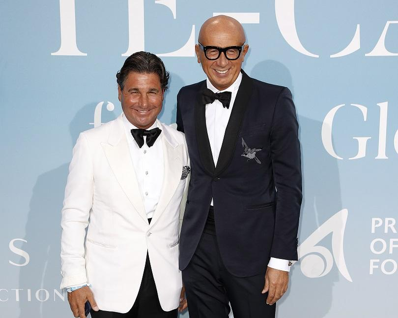 """Изп.директор на """"Гучи"""" Италия Марко Бизари (вдясно)"""